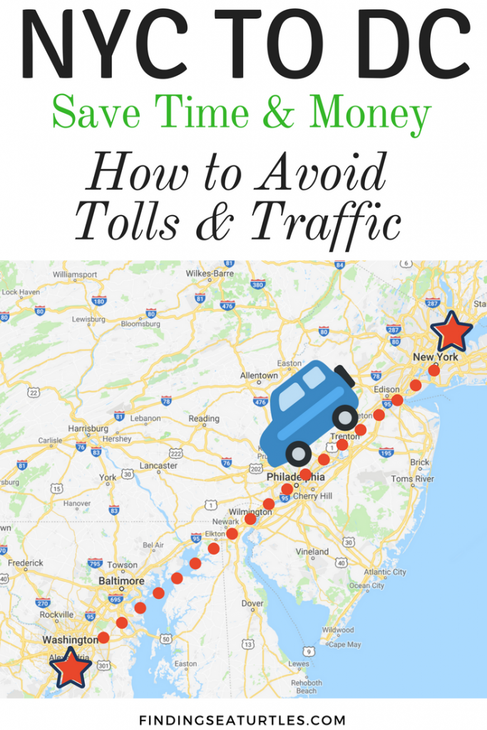Frugal Road Trip: NYC to DC Washington #RoadTrip #TraveltoNYC #FrugalRoadTrip #SaveMoney