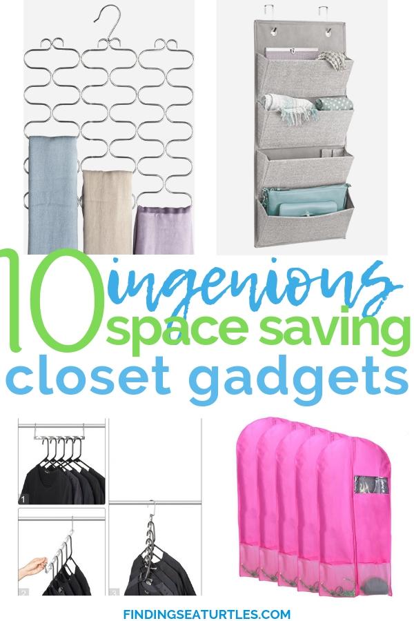 10 Massive Space Saving Closet Tips #Organization #ClosetOrganization #CleanCloset #SpaceSaving #TimeSaving #DustProof