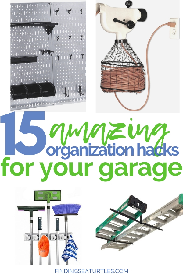 15 Clever Garage Organization Hacks #GarageCleaning #GarageStorage #GarageOrganization #GarageHacks