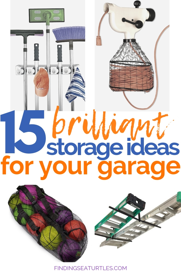 15 Clever Garage Storage Hacks #GarageCleaning #GarageStorage #GarageOrganization #GarageHacks