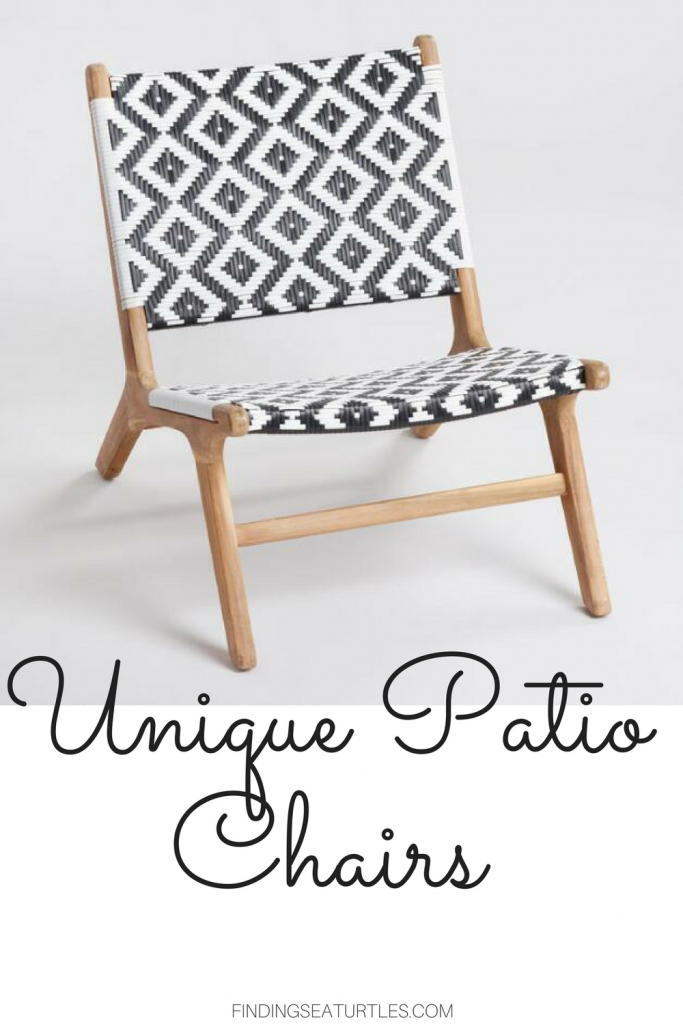 8 Cool Patio Chairs #Patio #Porch #Balcony #PatioChairs #OutdoorChairs