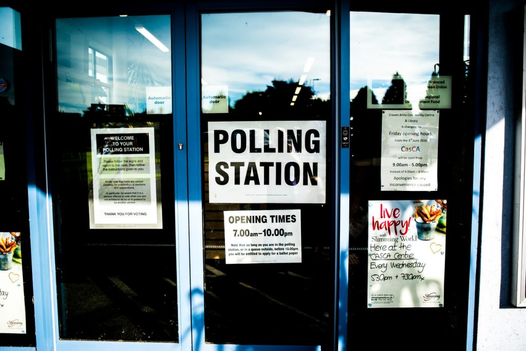 Summer Work: State Election Primaries Craven Arms, UK (photo Elliott Stallion) #SummerWork #SummerActivities #WorkThisSummer #EarnMoney #PollWorker #ElectionPrimaries #MidTermElections #SummerMoney