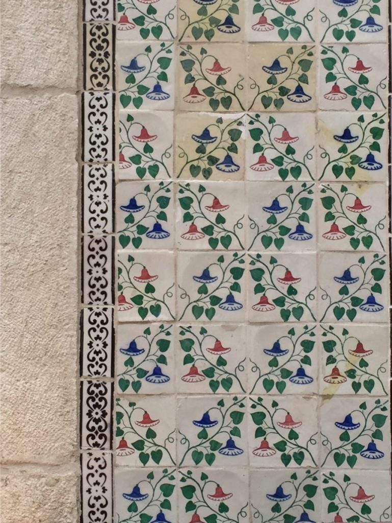 Old World Tiles of Lisbon, Portugal Tile 8 #Lisboa #Lisbon #Portugal #PortugalTravel #TravelPortugal #BeautifulPortugal #Alfama #PortugueseTiles #LovePortugal