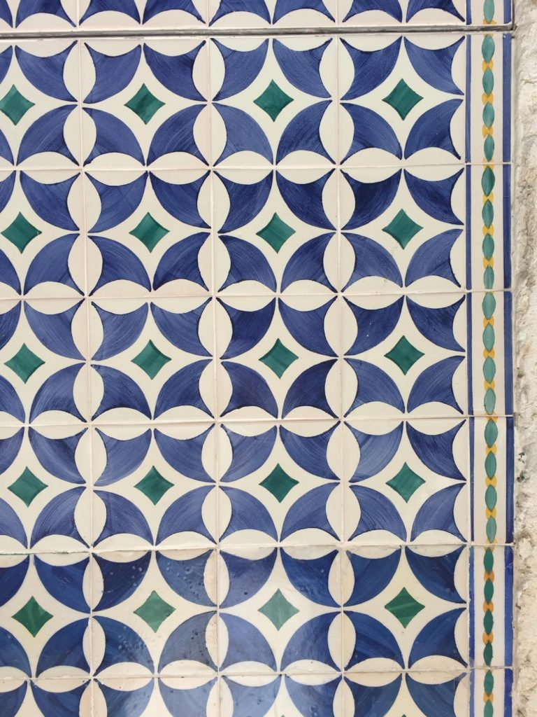 Old World Tiles of Lisbon, Portugal Tile 3 #Lisboa #Lisbon #Portugal #PortugalTravel #TravelPortugal #BeautifulPortugal #Alfama #PortugueseTiles