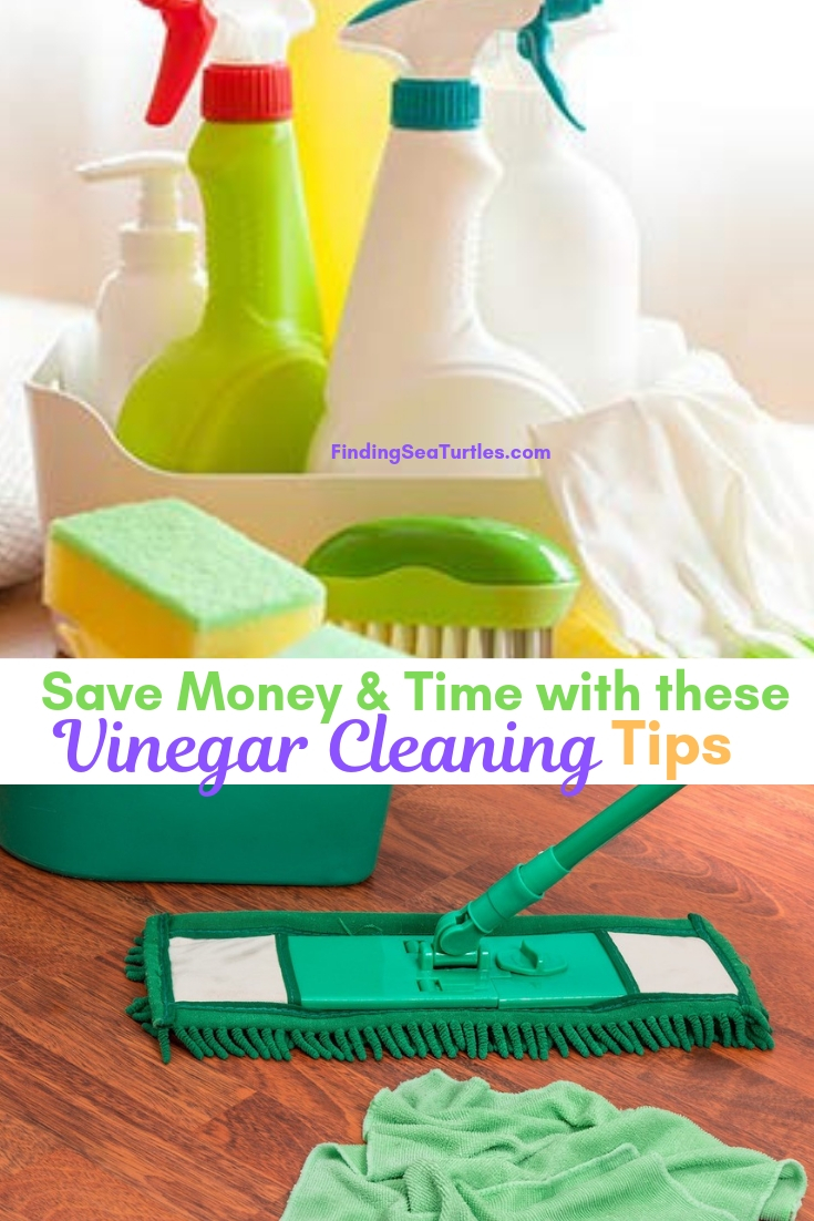 Save Money & Time With These Vinegar Cleaning Tips #Cleaning #HouseCleaning #HouseKeeping #Vinegar #CleaningwithVinegar #Affordable #SaveMoney #SaveTime #BudgetFriendly #NonToxic #EnvironmentallyFriendly