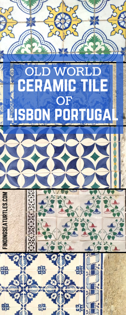 Old World Tiles of Lisbon #Lisbon #Lisboa #Portugal #TravelPortugal #PortugalTravel #PortugueseTiles #BeautifulTiles