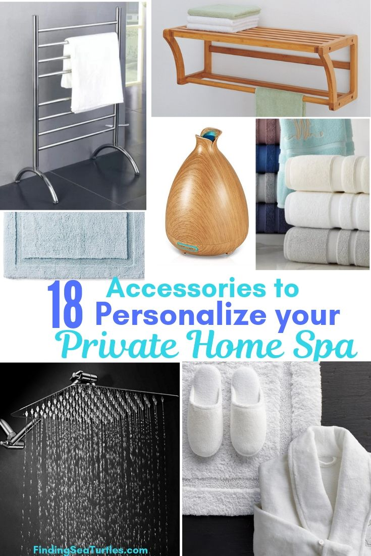 18 Accessories To Personalize Your Private Home Spa #HomeSpa #SpaAccessories #SpaBathAccessories #DIYSpa #SelfCare #SelfHelp