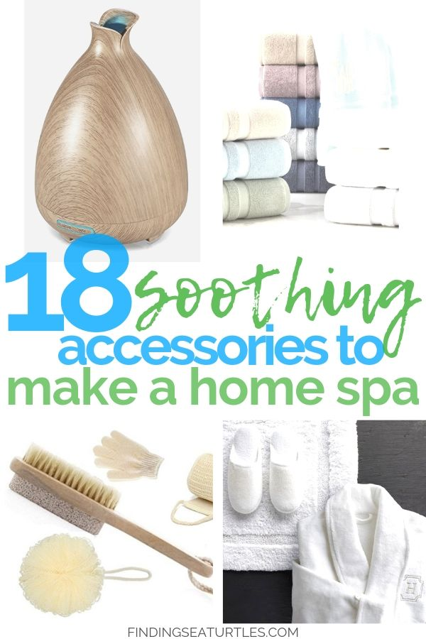 18 Soothing Accessories To Make A Home Spa #HomeSpa #SpaAccessories #SpaBathAccessories #DIYSpa #SelfCare #SelfHelp