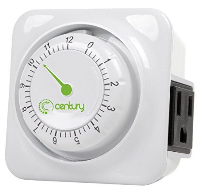 Create a Spa at Home with these 18 Bath Accessories - Century Heavy Duty Timer #spa #bathroom #homespa #pamperyourself #spaaccessories #metime #bathaccessories
