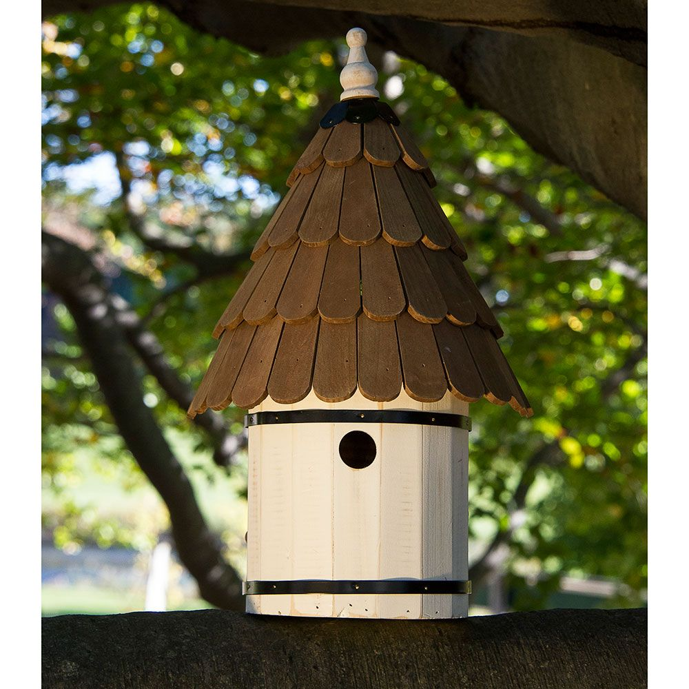 10 Blissful Birdhouses To Attract Birds That Serenade Cozy Cottage Birdhouse #BlissfulBirdhouses #Birdhouses #Garden #Gardening #AttractsBirds #CozyCottageBirdhouse