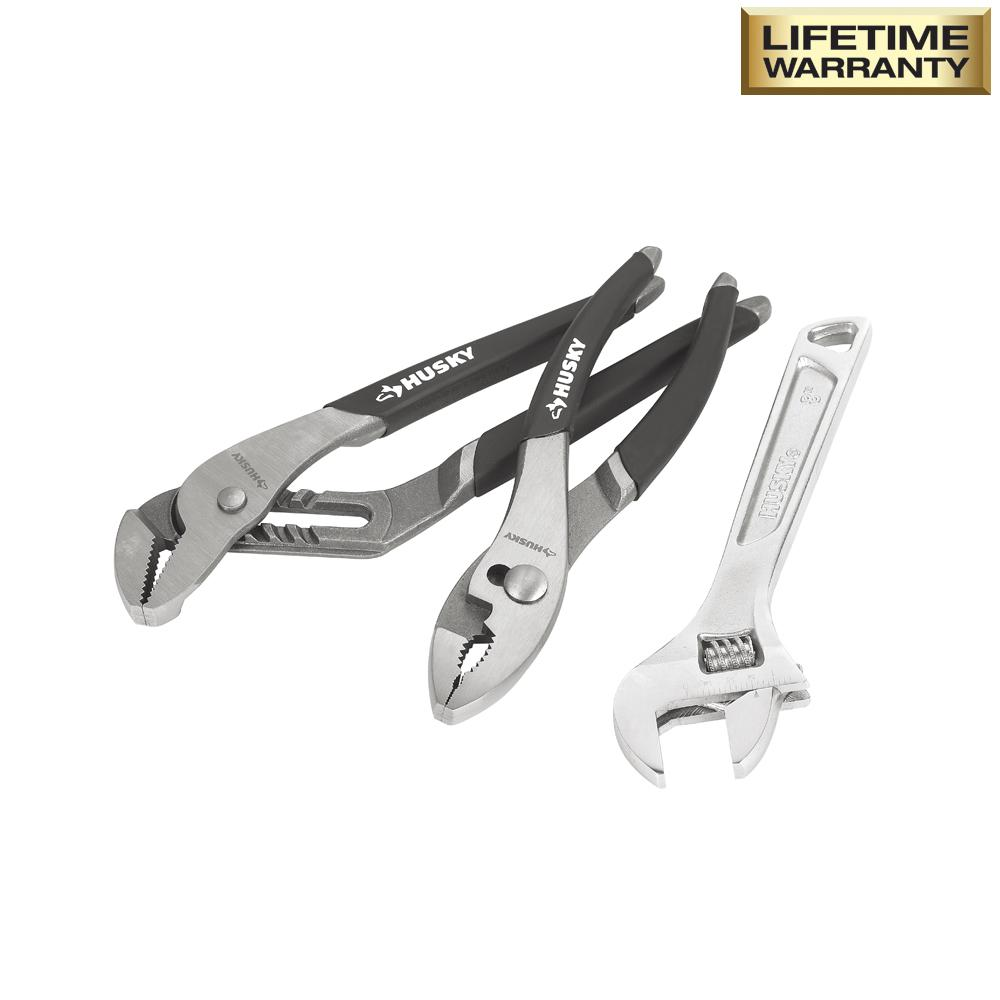 20 Must-Haves for the Home Tool Box Husky Plier And Wrench Set #DIY #Tools #Toolbox #MustHaveTools #HomeRepair #FirstTimeHomeowner #Homeowner