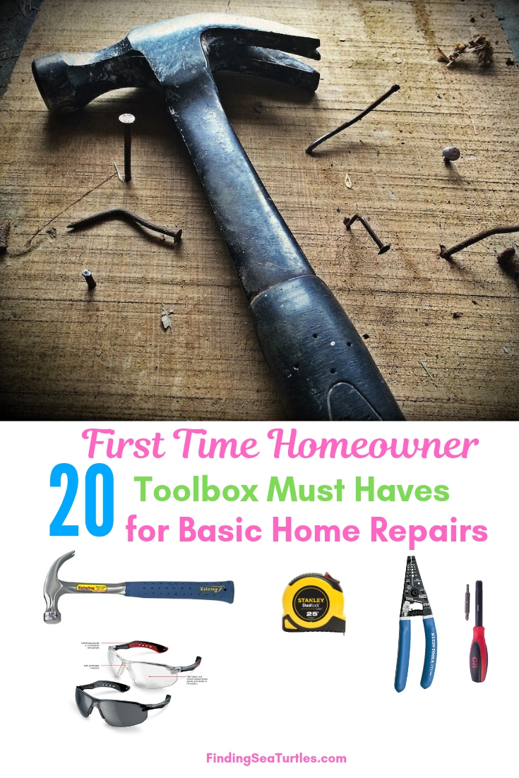 First Time Homeowner 20 Toolbox Must Haves For Basic Home Repairs #DIY #Tools #Toolbox #MustHaveTools #HomeRepair #FirstTimeHomeowner #Homeowner