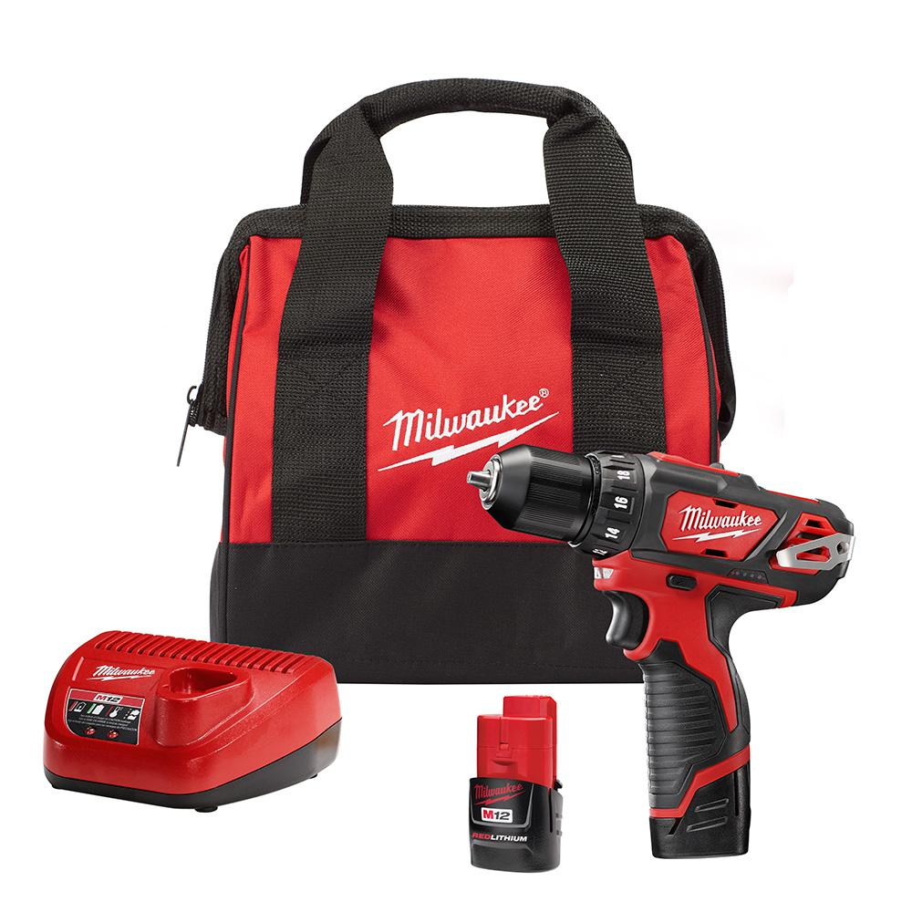 20 Must-Haves for the Home Tool Box - Milwaukee M12 Cordless Drill #DIY #Tools #Toolbox #MustHaveTools #HomeRepair #FirstTimeHomeowner #Homeowner
