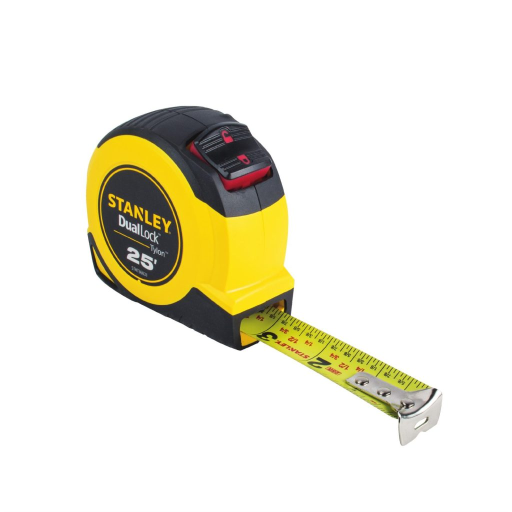 20 Must-Haves for the Home Tool Box - Stanley Tape Measure #DIY #Tools #Toolbox #MustHaveTools #HomeRepair #FirstTimeHomeowner #Homeowner