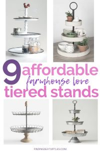 9 Affordable Farmhouse Tiered Stands #TierStand #TierTrayStand #Decor #HomeDecor #Decorate