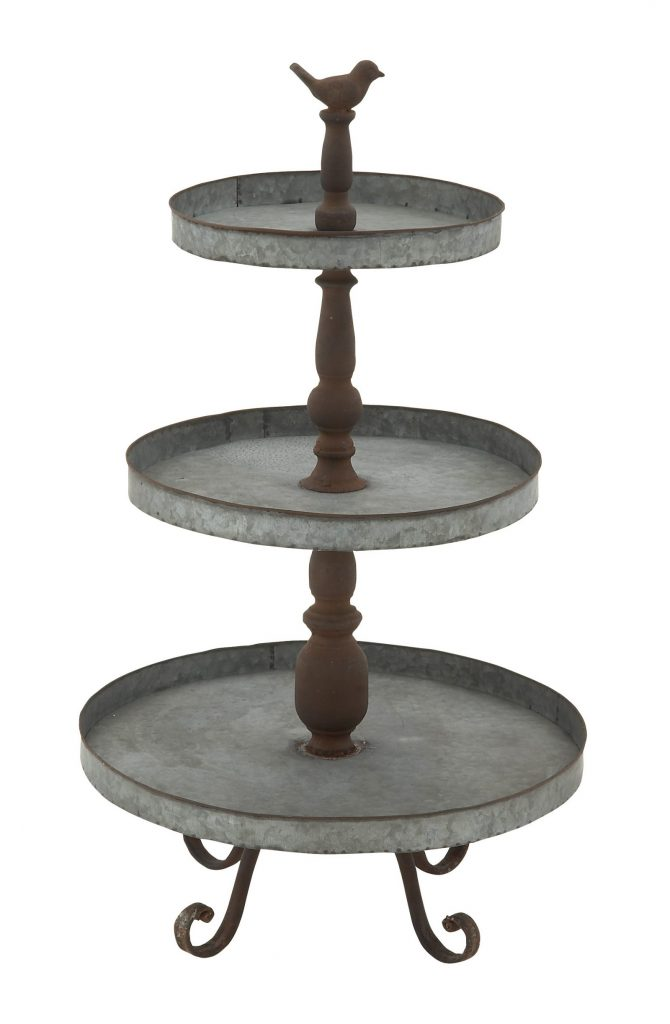 Celebrate the Holidays in Style Classic Metal 3 Tier Tray #TierStand #TierTrayStand #MetalTierStand #Decor #HomeDecor #Decorate