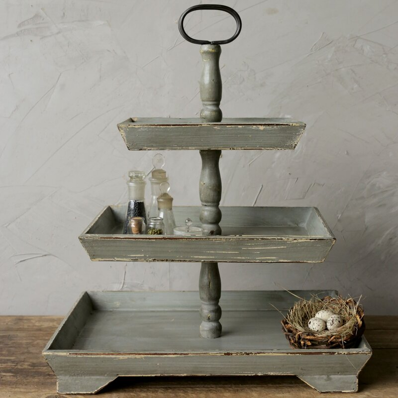 Stylish Decor Lacordaire Tiered Stand #TierStands #TierTrayStandd #Decor #FarmhouseDecor #RusticDecor #VintageDecor #CountryStyleDecor