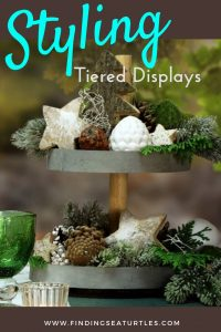 How to Style a Tiered Display For Quick and Easy Decor #TierStand #TieredStand #TieredTrays #Farmhouse #Decor #HomeDecor #Decorate #Vignette #DIY #BudgetFriendly #KidFriendly