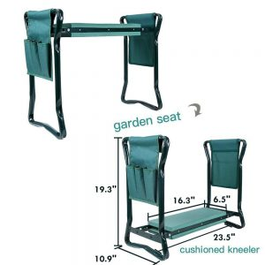 27 Gifts for Gardeners - Plants, Gear Tools Ohuhu Garden Kneeler Seat With Tool Pouches #Garden #GardenTools #Gardening #Tools #YardTools #GardenEssentials #GardenKneeler