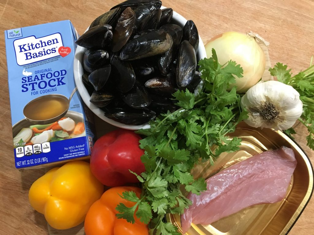 Easy Seafood Soup Recipe for a Hearty Winter Meal Rock Fish, Mussels, Peppers, Onions #SoupRecipe #DIY #SeafoodSoupRecipe #QuickAndEasy #HealthyEating #EasyRecipe