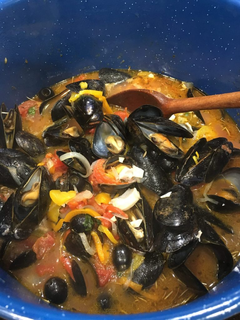 Easy Seafood Soup Recipe for a Hearty Winter Meal Simmering Rock Fish Mussels #SoupRecipe #DIY #SeafoodSoupRecipe #QuickAndEasy #HealthyEating #EasyRecipe