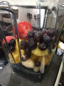 Easy Acai Bowl Recipe With Bananas and Blueberries Blueberries and Strawberries To Mixture #AcaiBowl #DIY #AcaiBowlRecipe #QuickAndEasy #HealthyEating