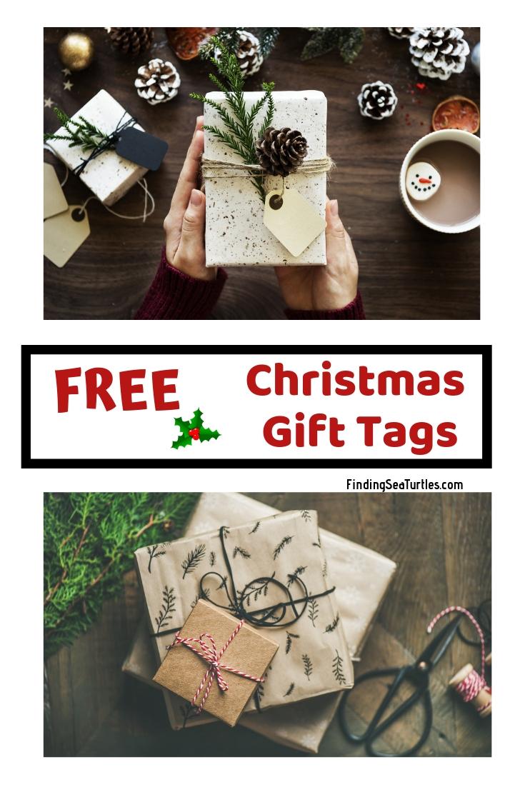 5 Collections of Free Printable Christmas Gift Tags Free Christmas Gift Tags #Christmas #ChristmasGiftTags #DIY #Printables #Free #GiftTags #ChristmasWrapping