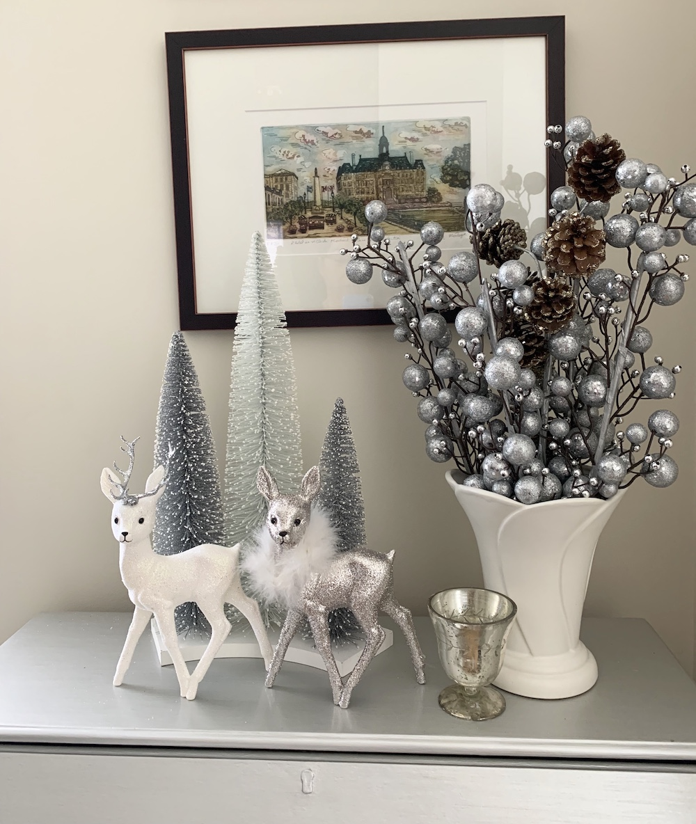 Christmas Home for the Holidays Winter Calm #Winter #Affordable #BudgetFriendly #Christmas #DIY #ChristmasDecor #Decor