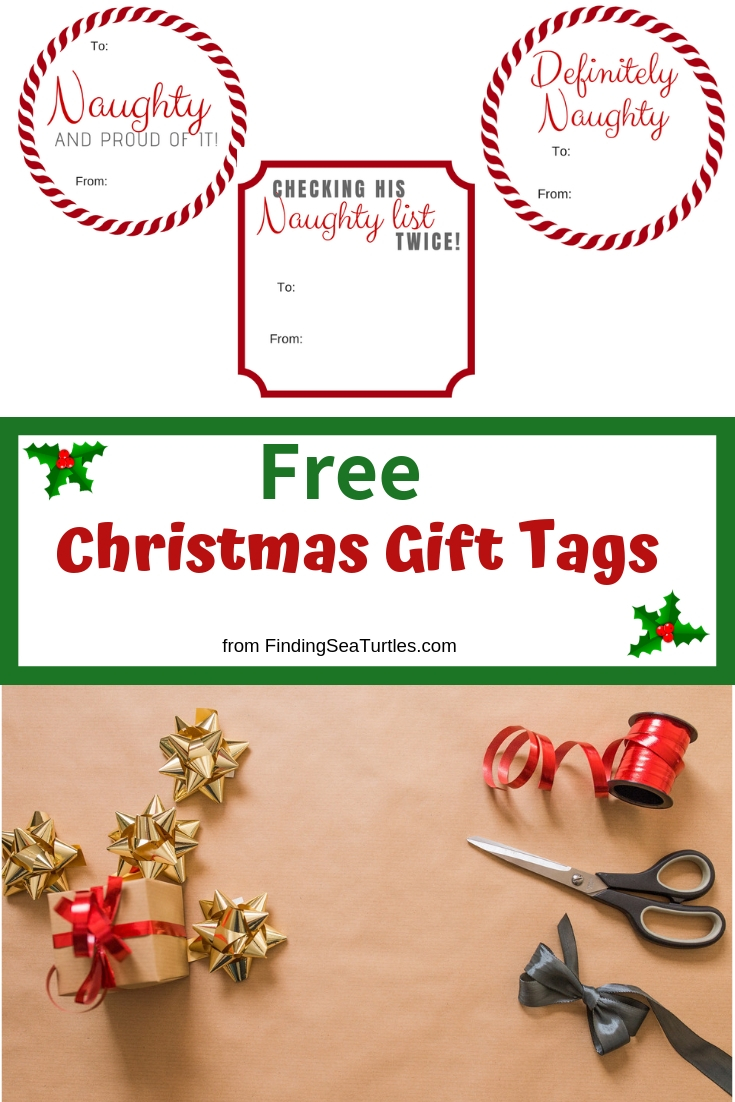 5 Collections of Free Printable Christmas Gift Tags Free Christmas Gift Tags 5 Collections #Christmas #ChristmasGiftTags #DIY