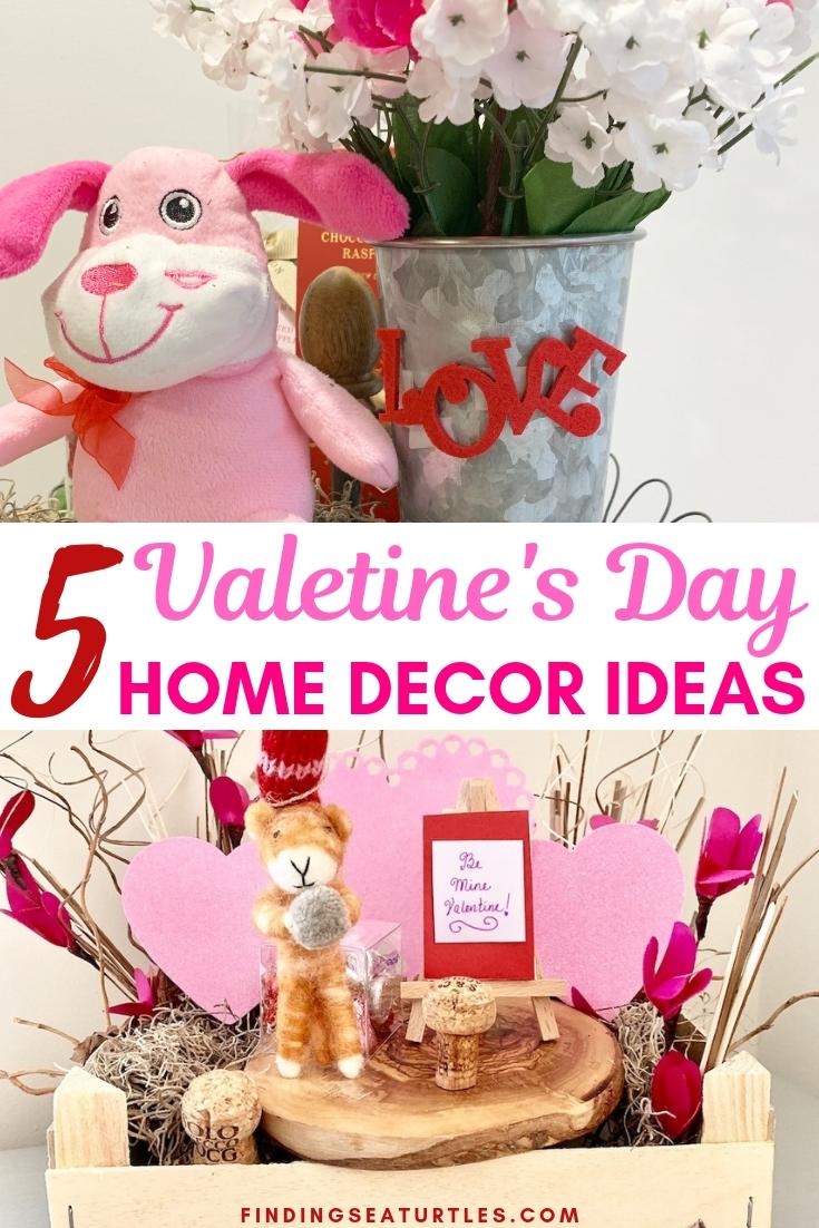 5 Valentine's Day Home Decor Ideas 5 Valentines Day Home Decor Ideas #Farmhouse #Affordable #SimpleDecor #QuickAndEasy #BudgetFriendly #Valentine #ValentinesDay #DIY #StValentinesDecor #FarmhouseDecor