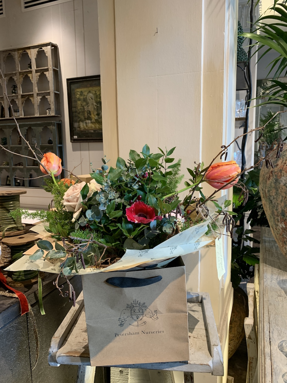 7 Things to do at Petersham Nurseries Petersham Arrangement #PetershamNurseries #Garden #GardenTools #GardenSupplies #Gardening #HomeDecor #GardenDecor #London #CoventGarden