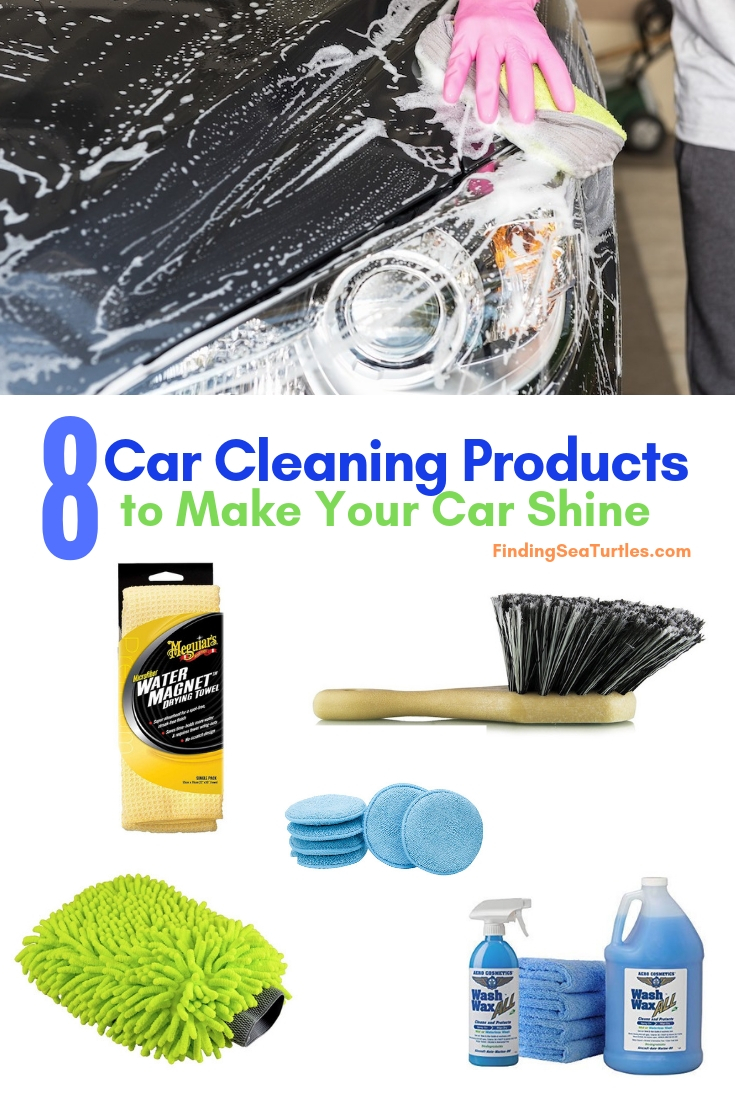 8 Car Cleaning Products To Make Your Car Shine #Cleaning #CarCleaning #CleanCar #QuickAndEasy #SaveMoney #SaveTime #BudgetFriendly