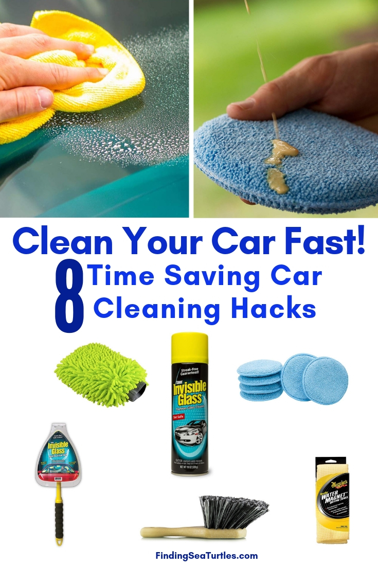Clean Your Car Fast! 8 Time Saving Car Cleaning Hacks #Cleaning #CarCleaning #CleanCar #QuickAndEasy #SaveMoney #SaveTime #BudgetFriendly