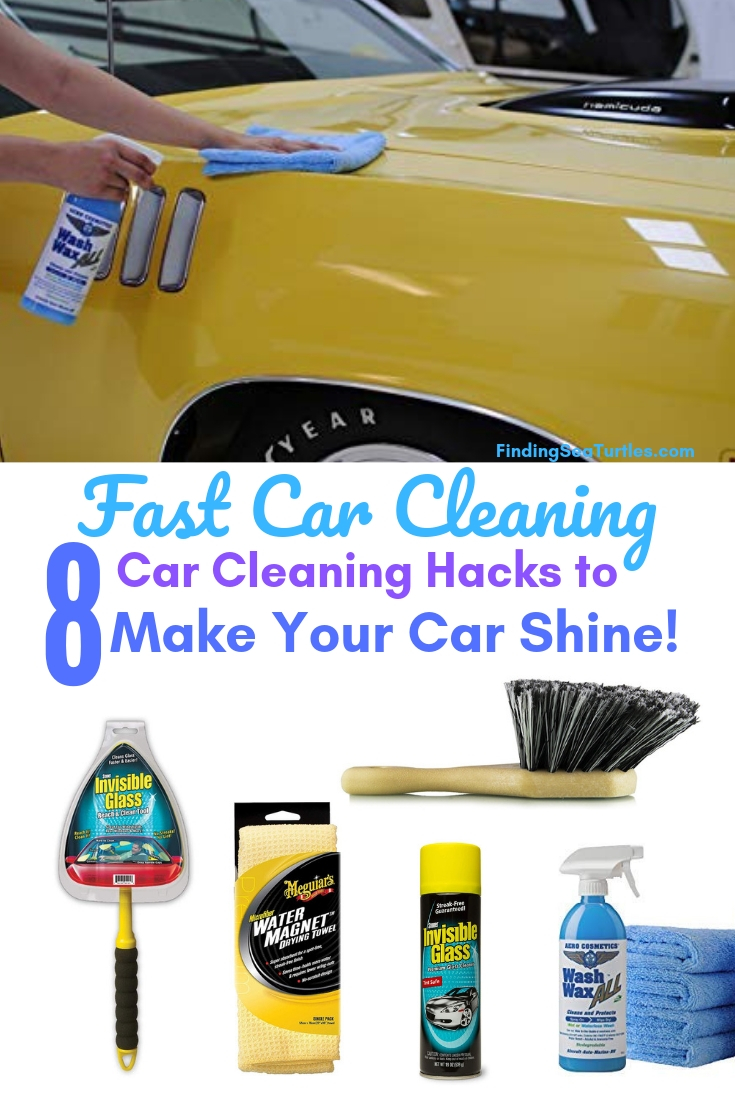 Fast Car Cleaning 8 Car Cleaning Hacks Make Car Shine! #Cleaning #CarCleaning #CleanCar #QuickAndEasy #SaveMoney #SaveTime #BudgetFriendly