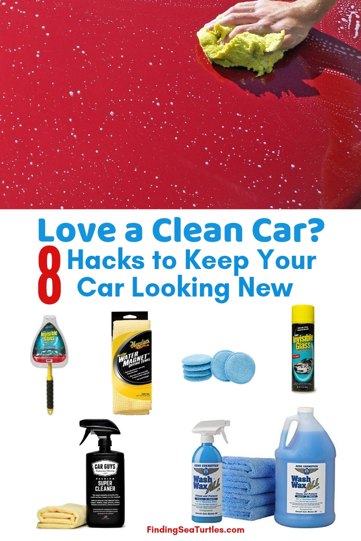 Love A Clean Car? 8 Hacks To Keep Your Car Looking New Clean Your Car Fast! 8 Time Saving Car Cleaning Hacks #Cleaning #CarCleaning #CleanCar #QuickAndEasy #SaveMoney #SaveTime #BudgetFriendly