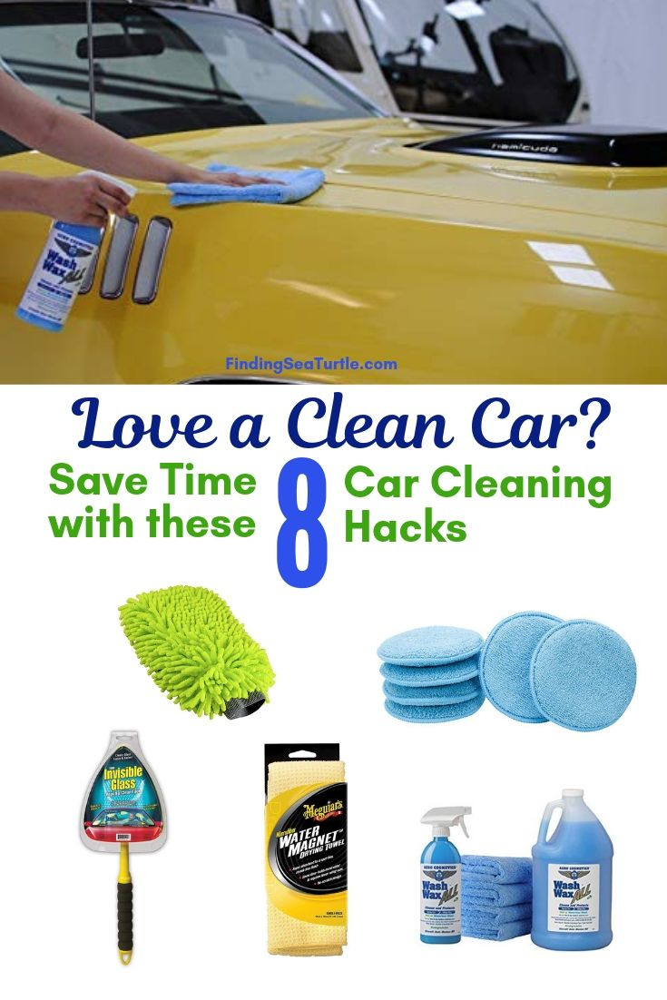 Love A Clean Car? Save Time With These 8 Car Cleaning Hacks #Cleaning #CarCleaning #CleanCar #QuickAndEasy #SaveMoney #SaveTime #BudgetFriendly