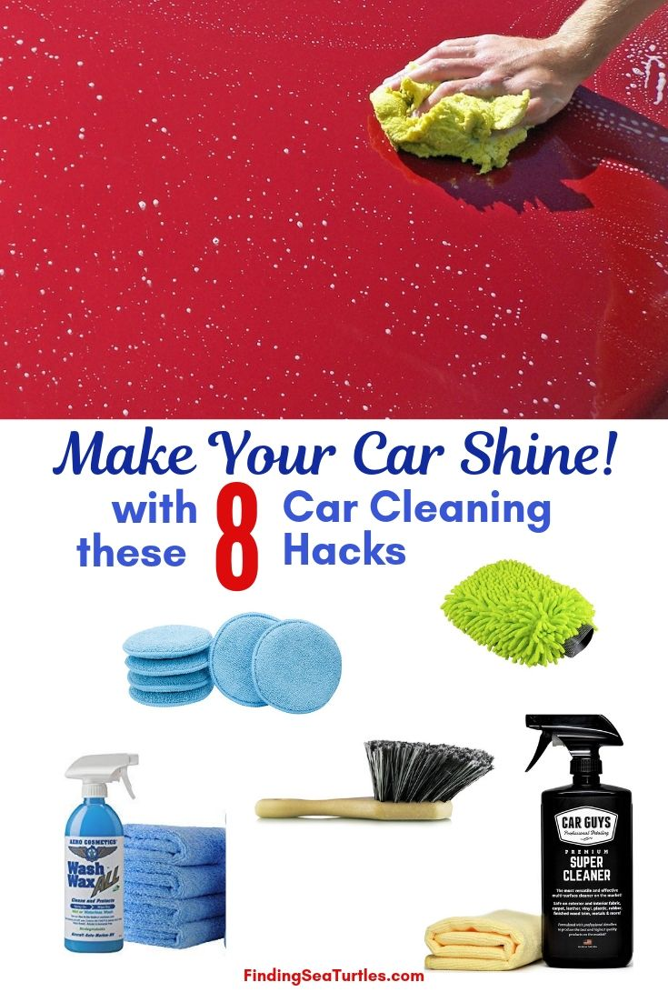 Make Your Car Shine! With These 8 Car Cleaning Hacks #Cleaning #CarCleaning #CleanCar #QuickAndEasy #SaveMoney #SaveTime #BudgetFriendly