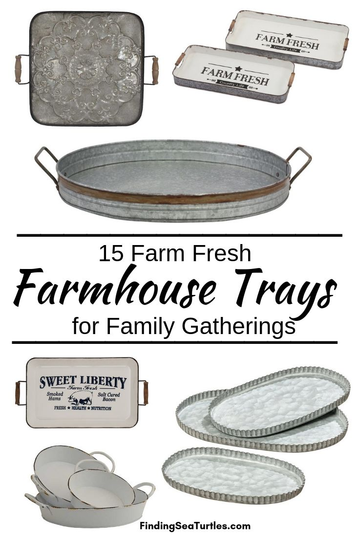 15 Farm Fresh Farmhouse Trays For Family Gatherings #Farmhouse #FarmhouseDecor #FarmhouseTrays #RusticDecor #Patio #OutdoorSpaces #OutdoorLiving #IndoorLiving #Entertaining