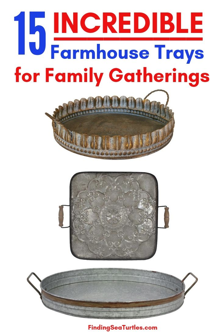15 INCREDIBLE Farmhouse Trays For Family Gatherings #Farmhouse #FarmhouseDecor #FarmhouseTrays #RusticDecor #Patio #OutdoorSpaces #OutdoorLiving #IndoorLiving #Entertaining