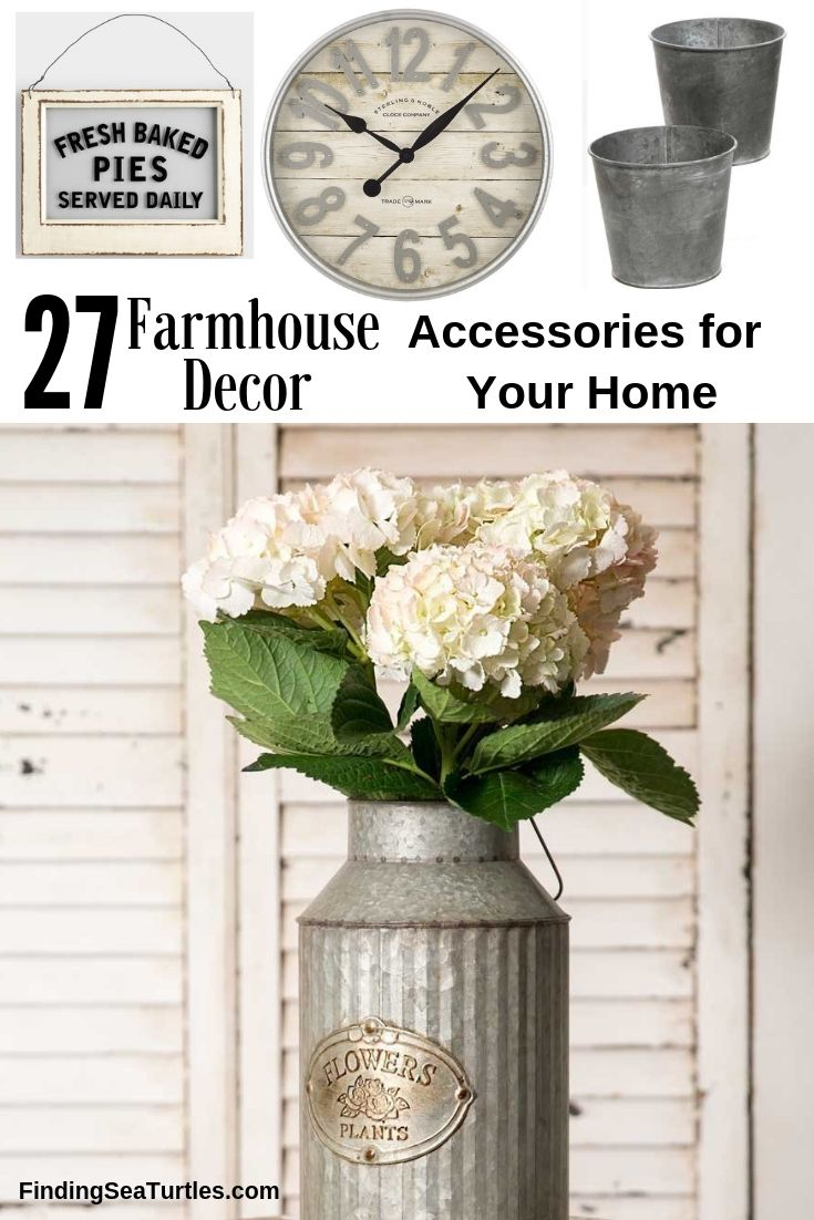 27 Farmhouse Decor Accessories For Your Home #Farmhouse #FarmhouseDecor #AffordableFarmhouse #RusticDecor #IndustrialDecor #FarmLife #CountryLife #CountryDecor #SimpleFarmhouseDecor