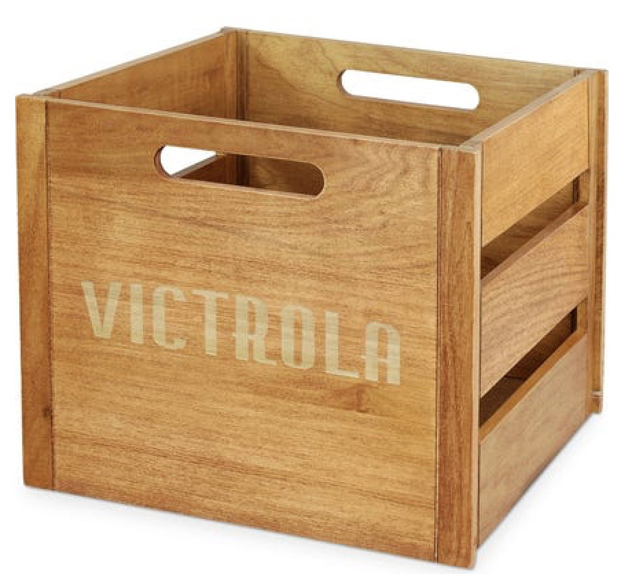 17 Farmhouse Crates for an Orderly Home Victrola Crate #WoodCrates #Farmhouse #FarmhouseDecor #FarmhouseCrates #RusticDecor #Storage #Organization #OrganizedHome #IndustrialDecor