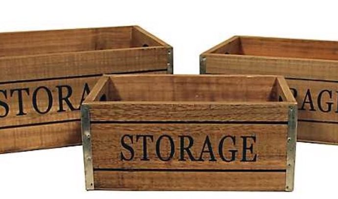 17 Farmhouse Crates for an Orderly Home