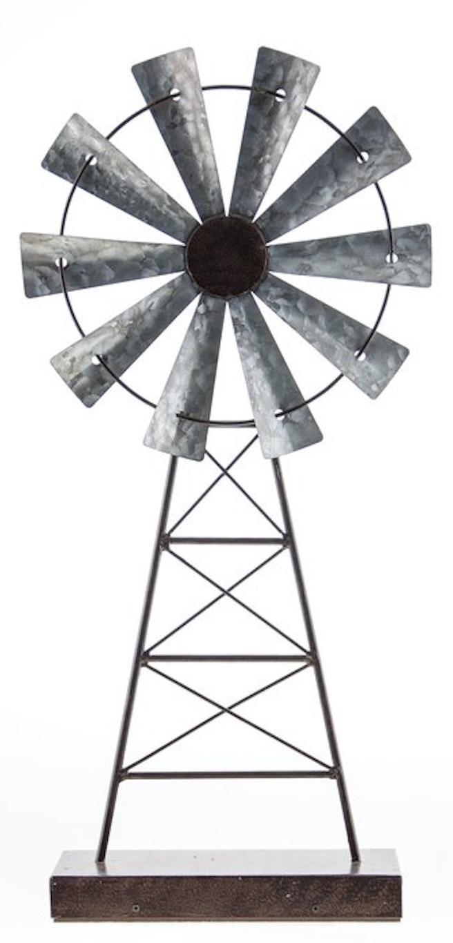 27 Simple, Affordable Farmhouse Decor Lucky Windmill Stand #Farmhouse #FarmhouseDecor #AffordableFarmhouse #RusticDecor #IndustrialDecor #FarmLife #CountryLife #CountryDecor #SimpleFarmhouseDecor