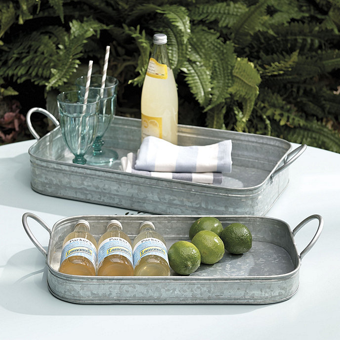 15 Farmhouse Trays for Every Budget Hayden Nesting Trays #Farmhouse #FarmhouseDecor #FarmhouseTrays #RusticDecor #Patio #OutdoorSpaces #OutdoorLiving #IndoorLiving #Entertaining