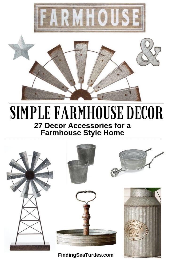 SIMPLE FARMHOUSE DECOR 27 Decor Accessories For A Farmhouse Style Home #Farmhouse #FarmhouseDecor #AffordableFarmhouse #RusticDecor #IndustrialDecor #FarmLife #CountryLife #CountryDecor #SimpleFarmhouseDecor