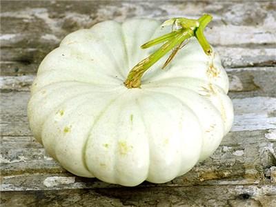 52 Types of Pumpkins to Eat, Decorate, and Display Flat White Boer Squash #Pumpkin #Pumpkins #GrowPumpkins #Garden #Gardening #FallDecor #FallGarden #FallSquash #AutumnDecor #FallHarvest #Halloween