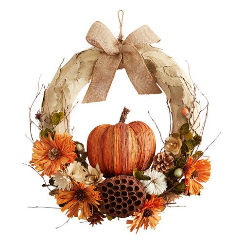 26 Farmhouse Fall Wreaths to Welcome Guests