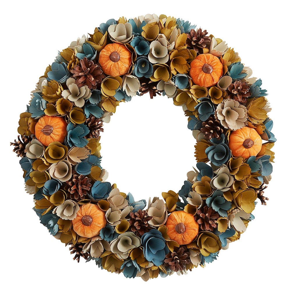 26 Farmhouse Fall Wreaths To Welcome