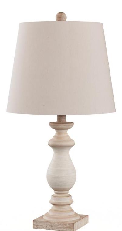 33 Simple Farmhouse Table Lamps Antique Balustrade Column Table Lamp #Farmhouse #FarmhouseTableLamps #FarmhouseLighting #RusticDecor #CountryDecor #FarmhouseDecor