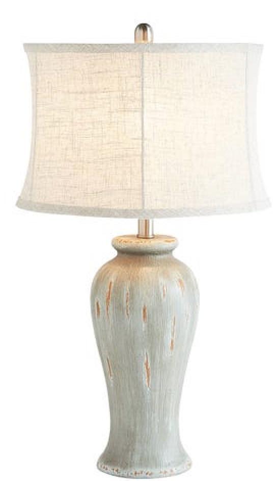 33 Simple Farmhouse Table Lamps Farmhouse Blues Table Lamp #Farmhouse #FarmhouseTableLamps #FarmhouseLighting #RusticDecor #CountryDecor #FarmhouseDecor
